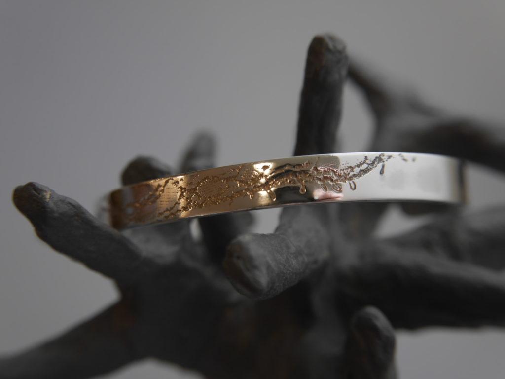 bracelet sur mesure texture dentelle